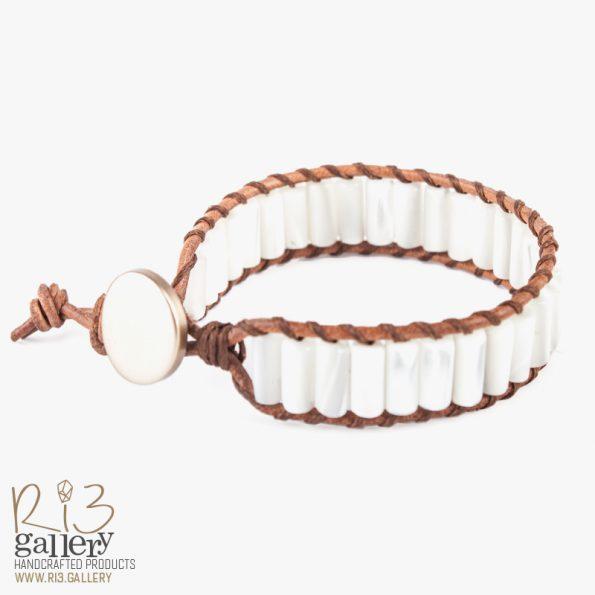 دستبند صدفی زنانه