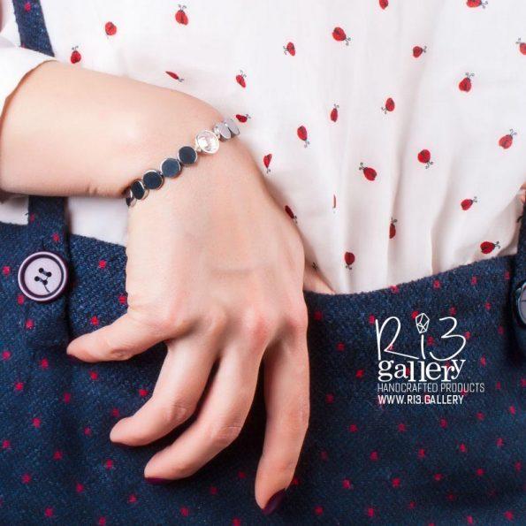 دستبند کوارتز زنانه