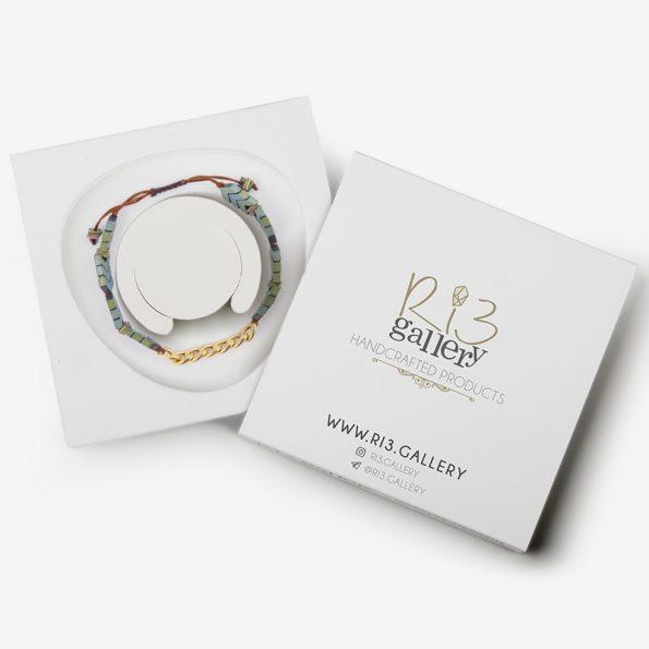 دستبند کارتیر مردانه | ریسه گالری