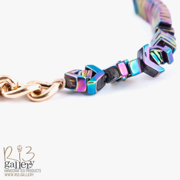 دستبند کارتیر رنگین کمانی