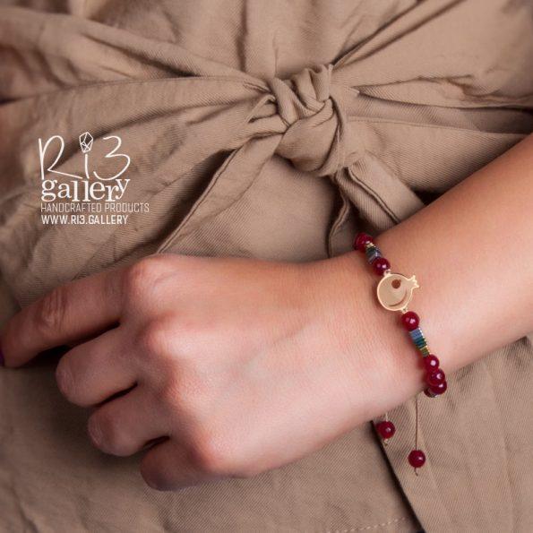 دستبند هلال ماه و انار