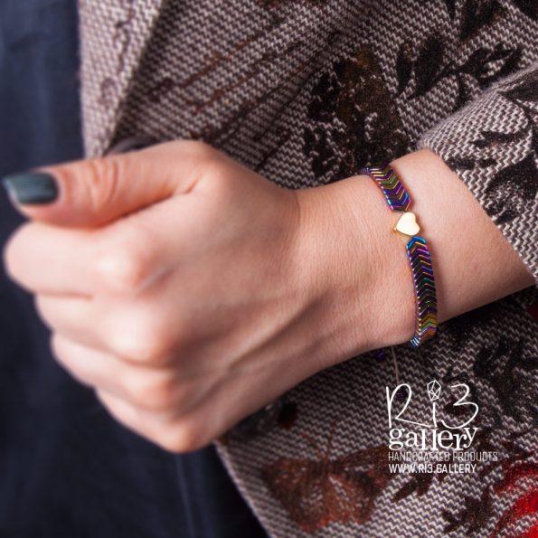 دستبند قلب | ریسه گالری