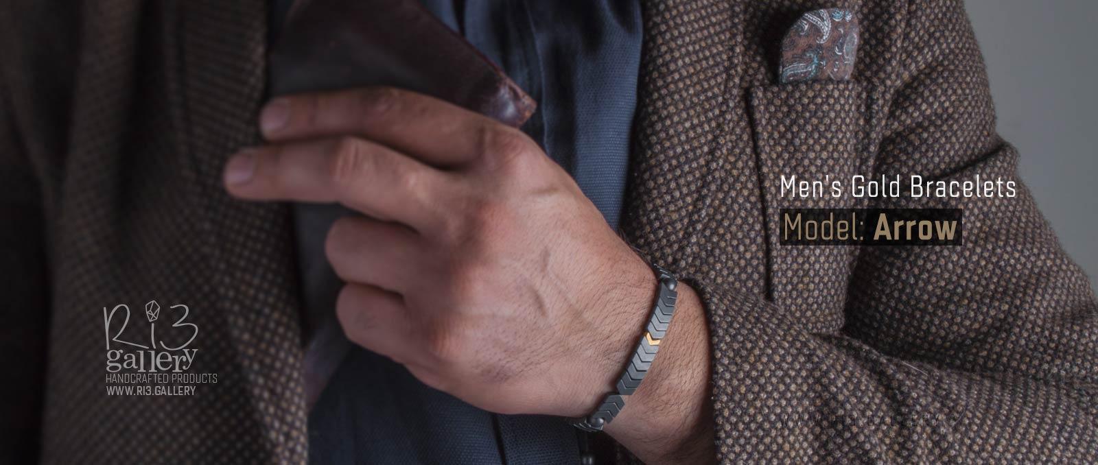 دستبند مردانه Arrow
