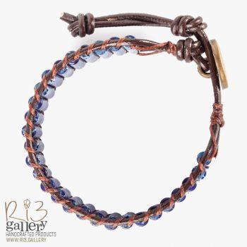 دستبند زنانه جاسپر لاجوردی