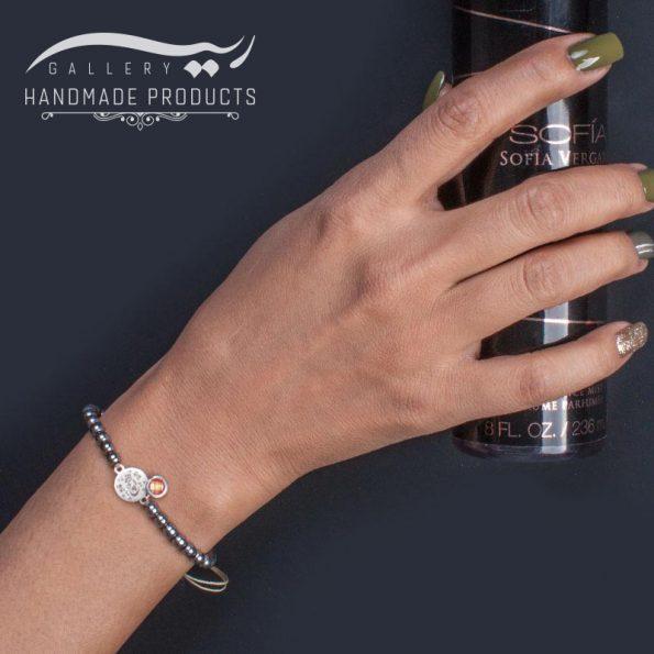 مدل دستبند نقره زنانه هیچ