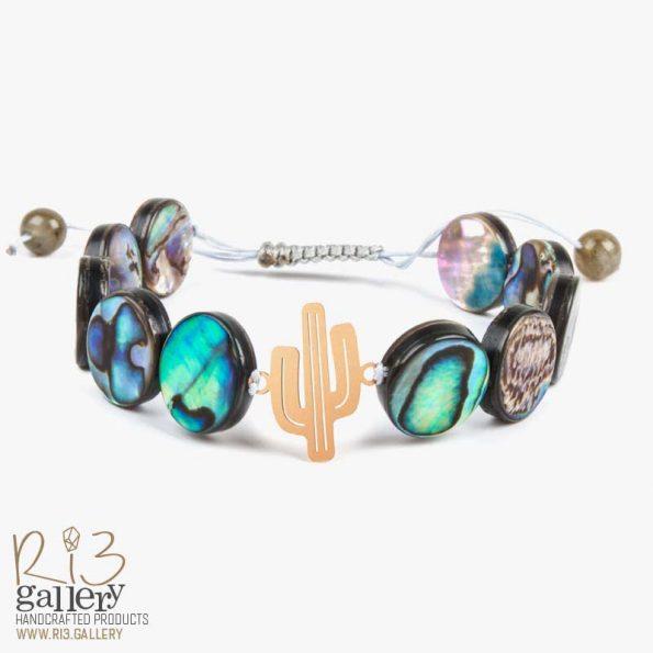 دستبند طاووسی   ریسه گالری