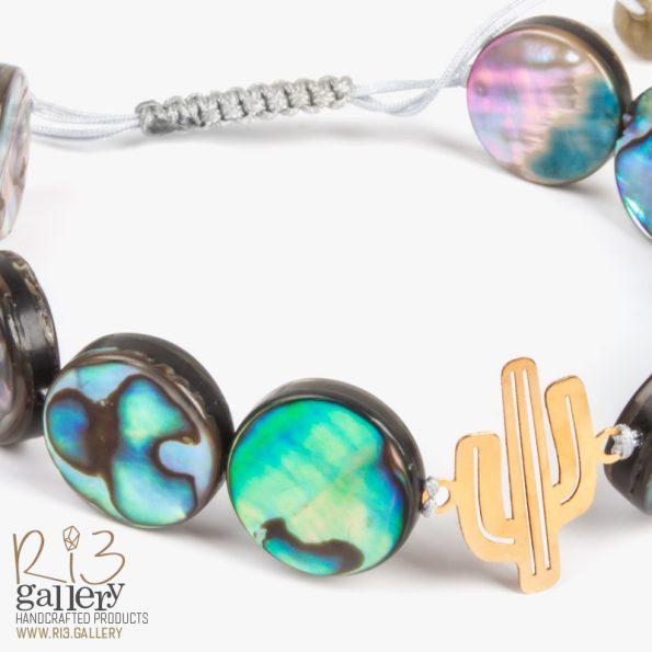 دستبند طاووسی | ریسه گالری