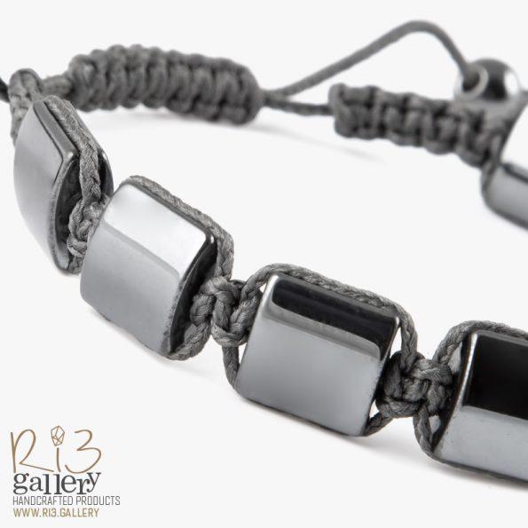 دستبند بافت حدید | ریسه گالری