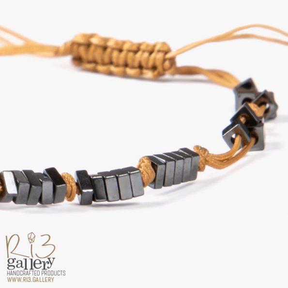 دستبند پلاک طلا Icare for you | دارای 0.380 گرم طلا