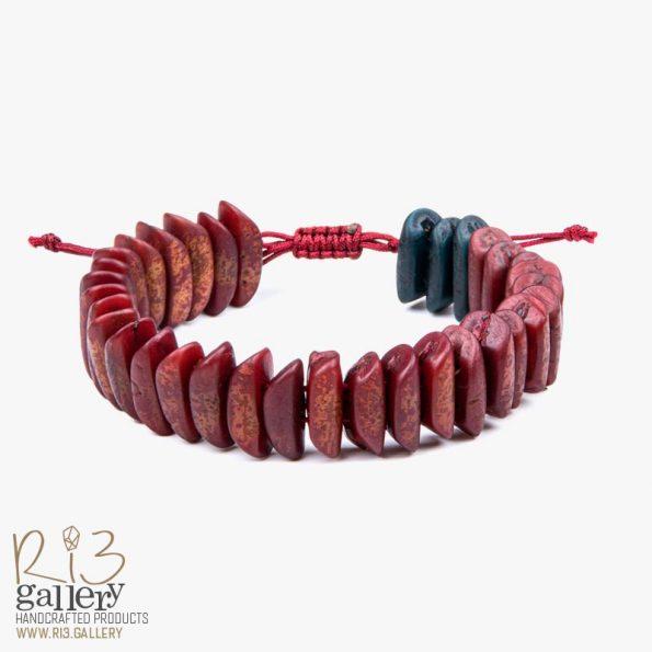 دستبند زنانه هسته خرما ریسه گالری