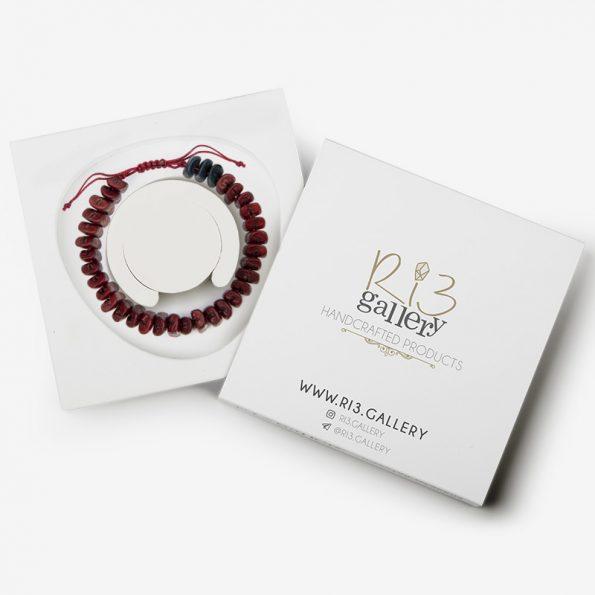 بسته بندی دستبند زنانه هسته خرما