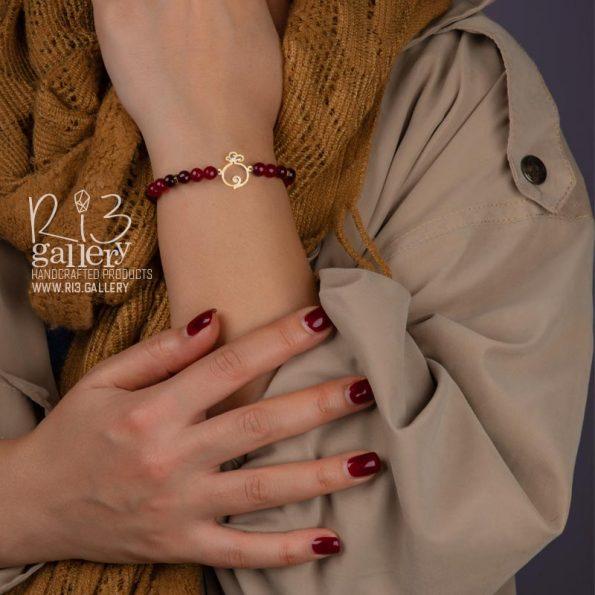 خرید اکسسوری دستبند طلای زنانه انار فُکُلی