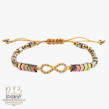 دستبند طلا زنانه بی نهایت
