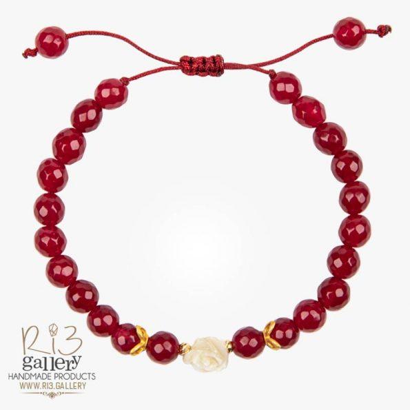 خرید آنلاین دستبند طلا زنانه رزا