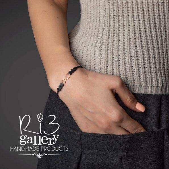 خرید دستبند طلا زنانه Love Forever | دارای 0.370 گرم طلا