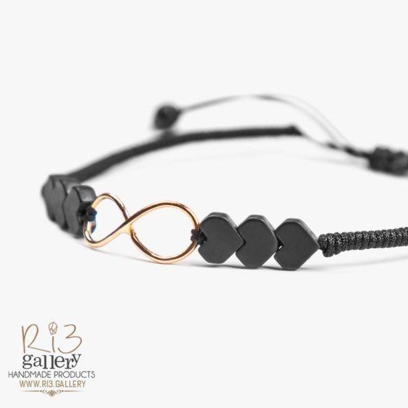 خرید آنلاین دستبند طلا زنانه Love Forever | دارای 0.370 گرم طلا