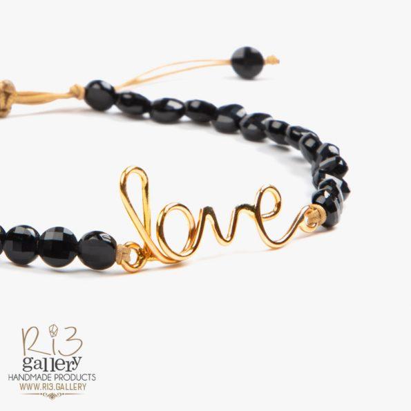 خرید آنلاین فروشگاه اینترنتی دستبند طلا زنانه Love