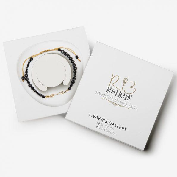 بسته بندی دستبند طلا زنانه Love