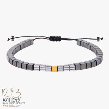 دستبند طلای مردانه کلاسیک