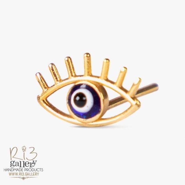 خرید گوشواره طلا زنانه چشم نظر | استفاده از نماد در زیورآلات نماد چشم نظر