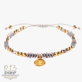 دستبند طلا زنانه الیزابت