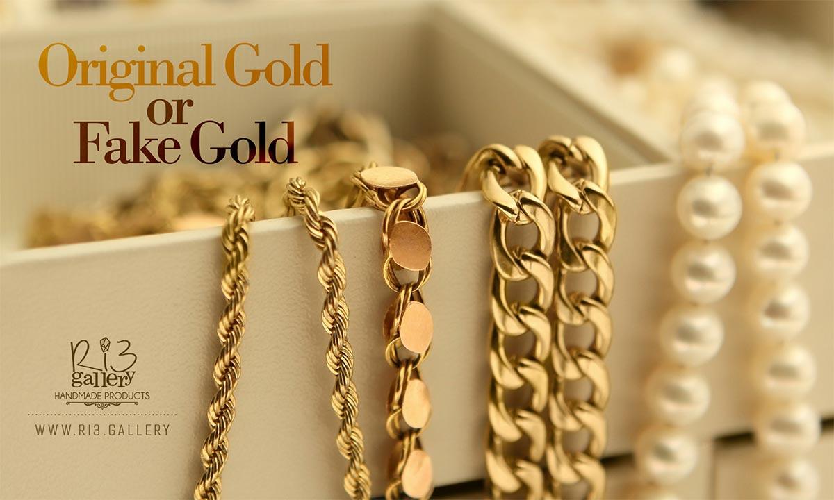 راه تشخیص طلا اصل