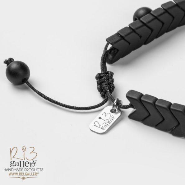 دستبند نقره زنانه لابرادورایت ریسه گالری