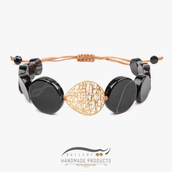 دستبند طلا زنانه طرح چیپسی