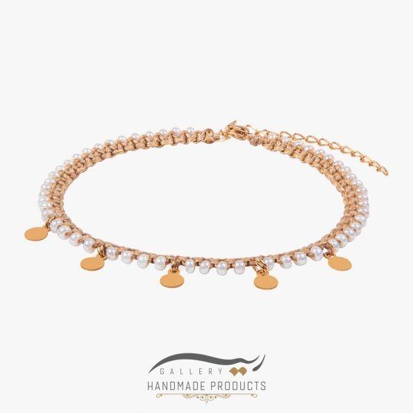 پابند طلا زنانه کولی