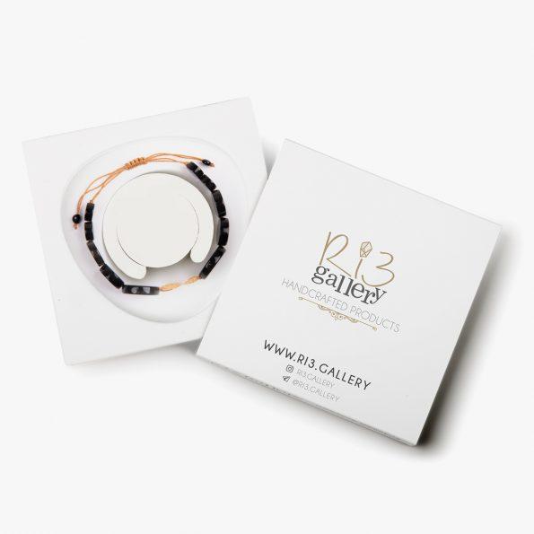بسته بندی دستبند طلا زنانه طرح چیپسی