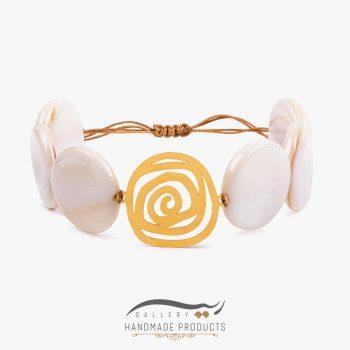 دستبند طلا زنانه اسپیرال