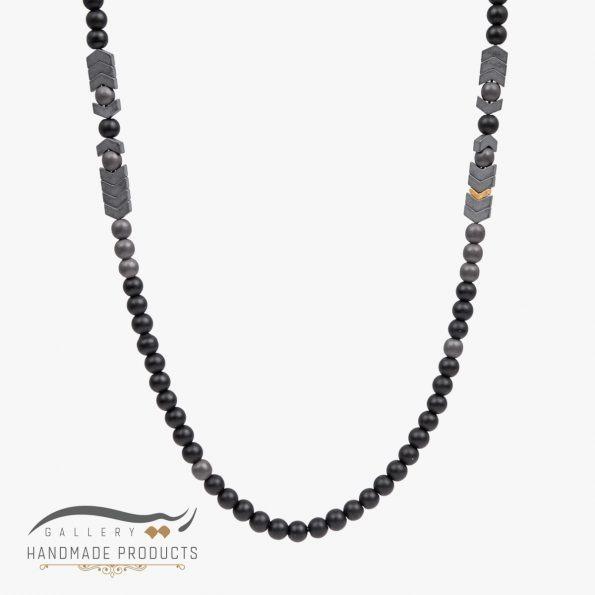 گردنبند طلا مردانه مارس