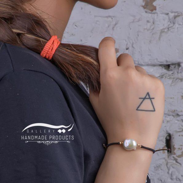دستبند طلا زنانه استرینج فروشگاه اینترنتی زیورآلات دست ساز ریسه گالری
