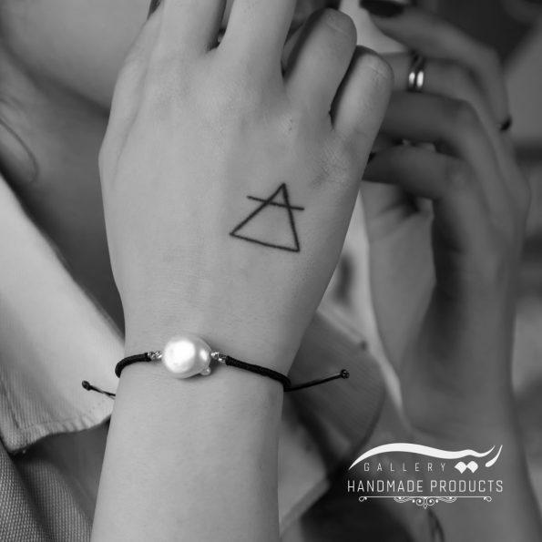 دستبند طلا زنانه استرینج فروشگاه ریسه گالری