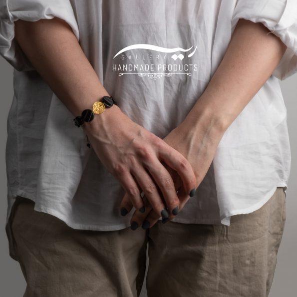 دستبند طلا زنانه طرح چیپسی ریسه گالری