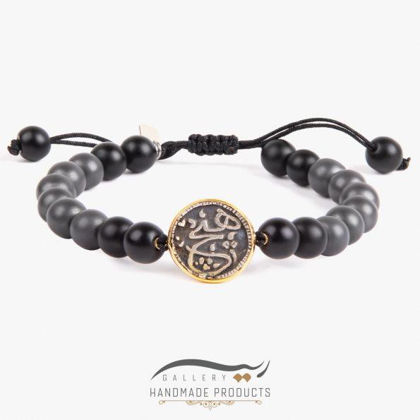 دستبند طلا مردانه هیچ