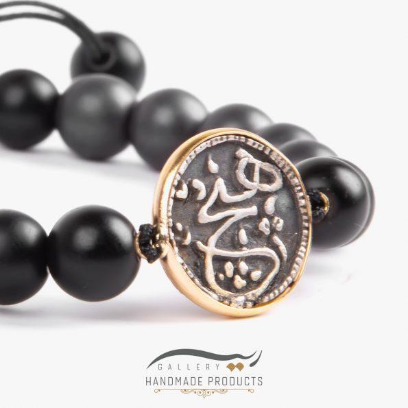 دستبند طلا مردانه هیچ فروشگاه زیورآلات دست ساز ریسه گالری