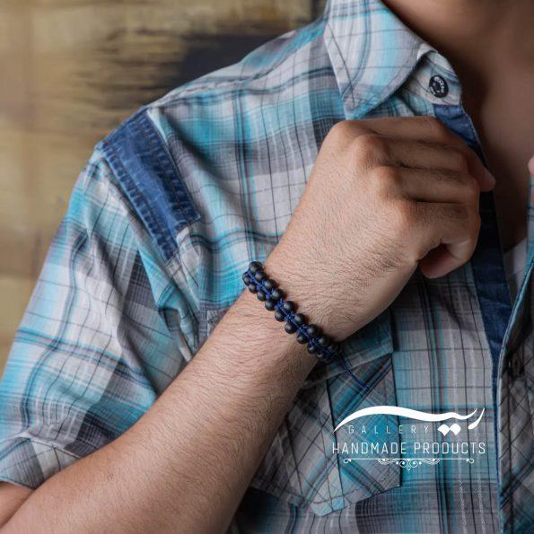دستبند مردانه اونیکس ایندیا ریسه گالری