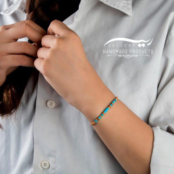دستبند طلا زنانه درباری ریسه گالری