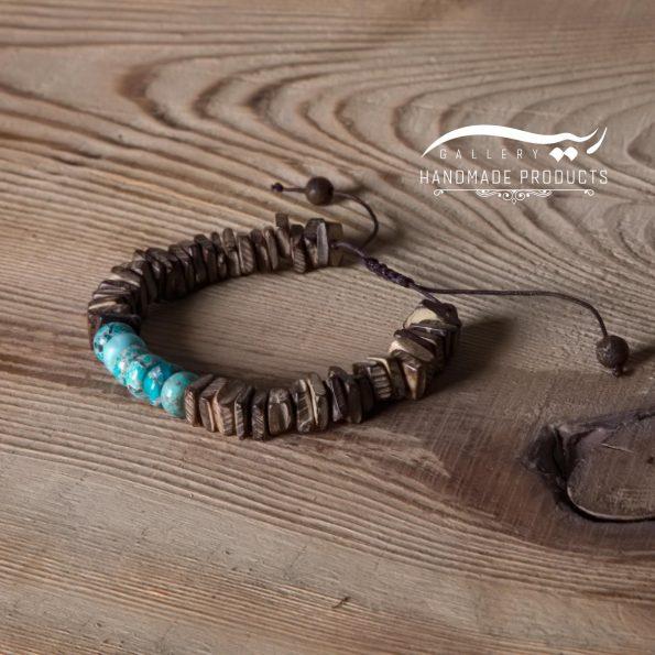 دستبند مردانه ماسایی زیورآلات دست ساز ریسه گالری