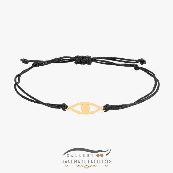دستبند طلا زنانه چشم