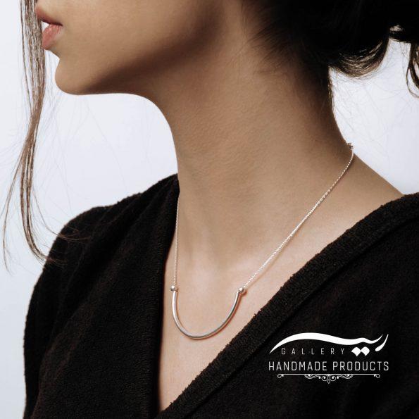 گردنبند نقره زنانه آرک