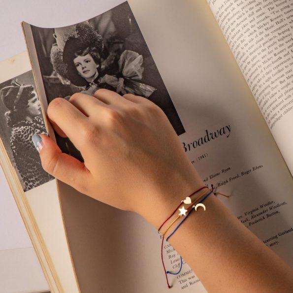 دستبند طلا زنانه تری لاین فروشگاه اینترنتی ریسه گالری