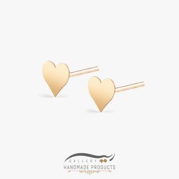 گوشواره طلا زنانه قلب