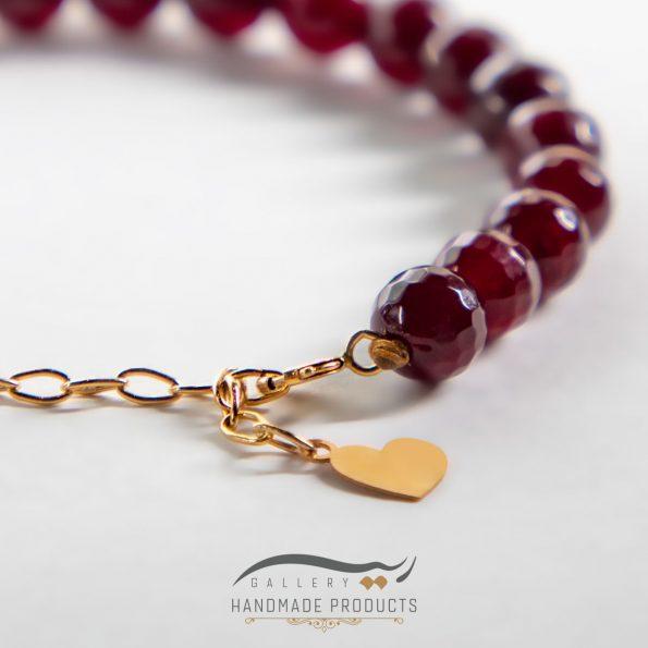 دستبند طلا زنانه خاتون فروشگاه زیورآلات دست ساز ریسه گالری