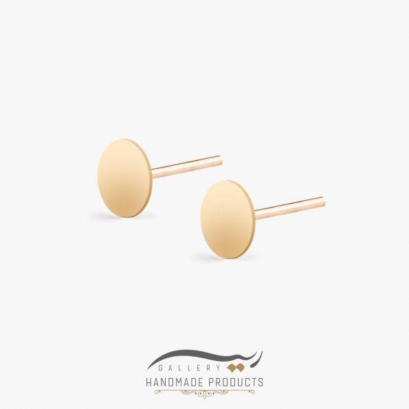 گوشواره طلا زنانه دایره
