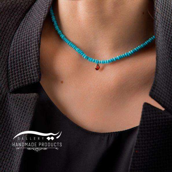 گردنبند طلا زنانه ثریا ریسه گالری