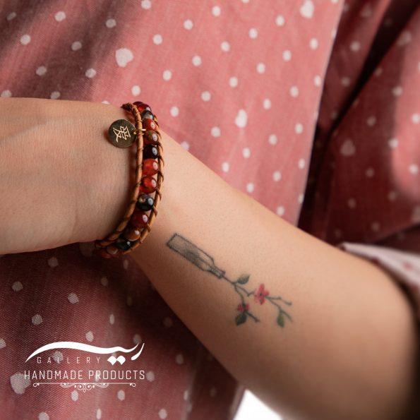 دستبند طلا زنانه افسانهای فروشگاه زیورآلات دست ساز ریسه گالری