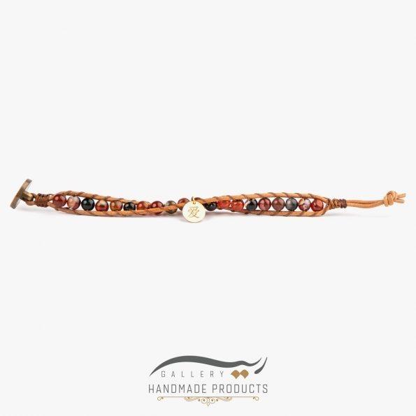 دستبند طلا زنانه افسانهای فروشگاه اینترنتی زیورآلات دست ساز ریسه گالری