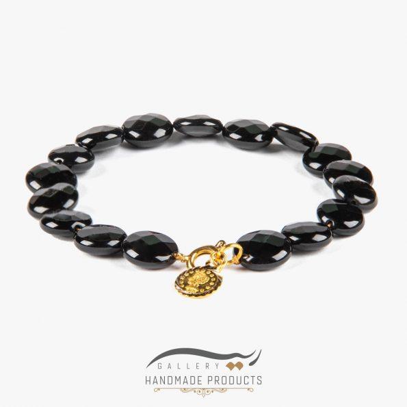 دستبند طلا زنانه ملکه سیاه
